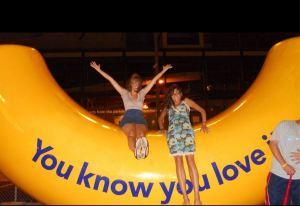 My best friend Rachel and I...loving life.