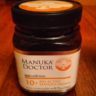 Manuka bioactive honey - so many phenomenal healing properties to this honey, I can't even remember them all, but it's awesome stuff...I like to stir some in with my teas